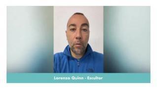 """Lorenzo Quinn: """"Ahora es el momento de dar"""""""