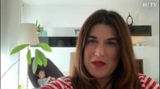Verónica Romeo explica cómo vive el confinamiento en un piso de 90 metros cuadrados