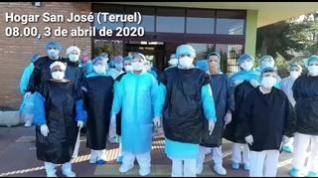 Los trabajadores del Asilo San José de Teruel denuncian falta de material de protección