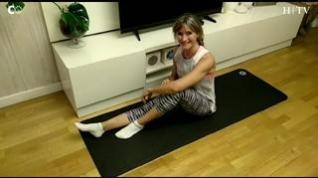 Un ejercicio de pilates para reactivar tu cuerpo en casa