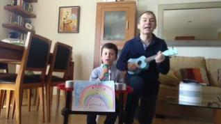 Un canto a la enseñanza para los niños de Huesca