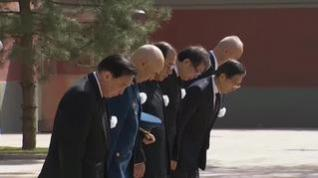 China celebra un día de luto nacional en recuerdo a las víctimas de COVID-19