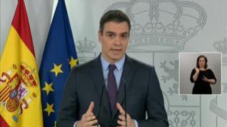 Sánchez solicitará al Congreso una nueva ampliación del estado de alarma hasta el 26 de abril