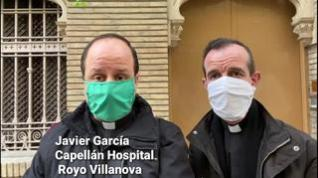Los capellanes del Royo Villanova y del Servet recuerdan que hay sacerdotes en todos los hospitales
