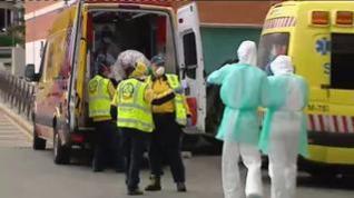 Ligera mejoría en los datos de afectados por el coronavirus en España
