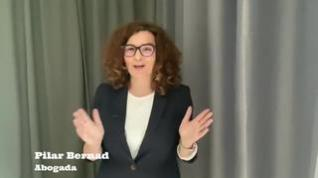 La abogada Pilar Bernad explica en un vídeo cómo hacer testamento durante la cuarentena