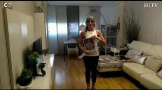 Una tabla de ejercicios con step casero para hacer sin salir del salón