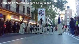 Así fueron las procesiones del Martes Santo en Zaragoza en 2019