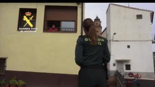 """""""Quédate en casa porque juntos lo conseguiremos"""",  el vídeo de la Guardia Civil en Aragón"""