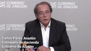 Aragón cierra operaciones con los bancos por valor de más de 1.300 millones de euros