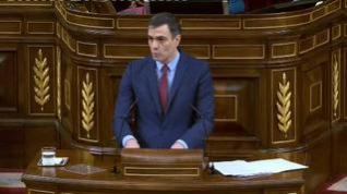 """Sánchez convoca """"a todas las fuerzas políticas"""" a """"un gran acuerdo para la reconstrucción"""""""