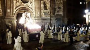 Así se vivió la procesión de La Piedad la madrugada del Jueves al Viernes Santo de 2019