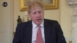 Boris Johnson se dirige al país para anunciar que ya le han dado el alta