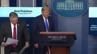 Donald Trump propone inyectar desinfectante y luz solar a pacientes con coronavirus