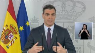 """Sánchez señala que la desescalada será """"gradual y dependerá del territorio en que uno viva"""""""