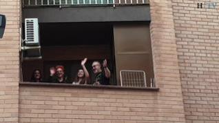 Música en directo, cada día, en un pequeño rincón del barrio del Arrabal, en Zaragoza