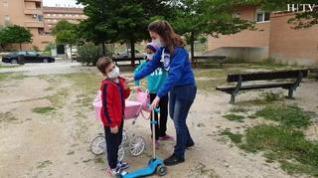 """Rubén, 6 años: """"Necesitaba salir a la calle"""""""