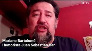 Humor en tiempos de coronavirus con Mariano Bartolomé y su curiosa Feria del Libro doméstica