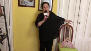 Corita Viamonte interpreta una versión de  'Podmoskóvnye Vecherá'