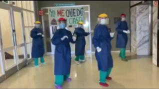 'Este aplauso es para ti', el vídeo homenaje de la Unidad de Neumología del Servet a los ciudadanos
