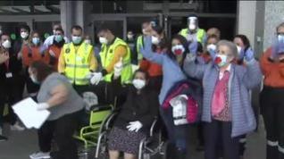 Emotivo cierre del hospital de campaña de IFEMA