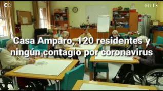 Casa Amparo, 120 residentes y ningún contagio por coronavirus