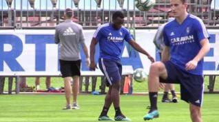 Tercer día de entrenamientos individualizados del Real Zaragoza