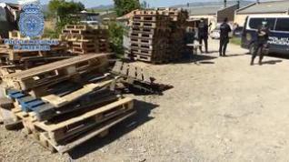 Detenido en el poblado chabolista de Jara, en Huesca, por conducir sin carné y huir