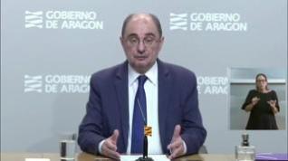 Lambán no descarta que Zaragoza y el resto de Aragón tengan distintas velocidades en la desescalada