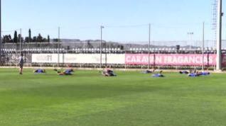 El Real Zaragoza va tomando forma