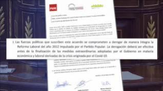 """El Gobierno pacta con Bildu la """"derogación íntegra"""" de la reforma laboral y luego lo matiza"""