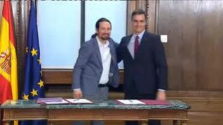 El PSOE pacta con Bildu y UP la derogación completa de la reforma laboral y luego se retracta