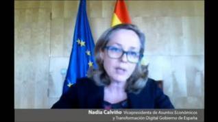 """Calviño rechaza la derogación de la reforma laboral por """"absurdo y contraproducente"""""""