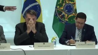 El Supremo de Brasil revela una polémica reunión de Bolsonaro con amenazas e insultos
