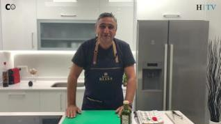 Cocina con Segarra: Sandwich y carpaccio de pastrami