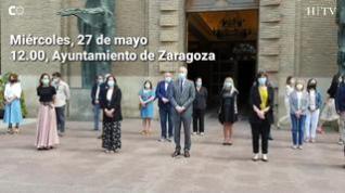 Aragón se suma al luto nacional y destaca la lucha contra la pandemia