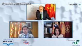 """Azcón, Felipe y Buj aseguran que """"no habrá subida de impuestos"""""""