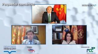 Los alcaldes de Zaragoza, Huesca y Teruel apuestan por la importancia del comercio de proximidad