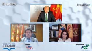 El futuro, analizado por los alcaldes de Zaragoza, Huesca y Teruel