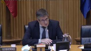 Patxi López pide disculpas por la bronca ocurrida en la Comisión de Reconstrucción