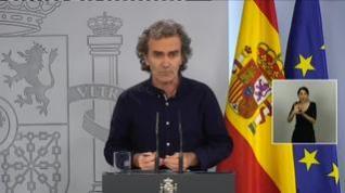 """Fernando Simón: """"No voy a dejar de hacer mi trabajo; no voy a abandonar el barco"""""""