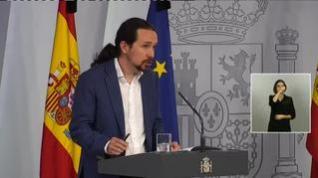 """Iglesias tras aprobarse el Ingreso Mínimo Vital: """"Es un día histórico para nuestra democracia"""""""