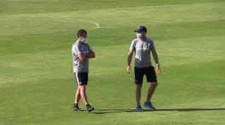 Nuevo entrenamiento del Real Zaragoza