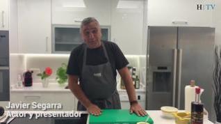 Cocina con Segarra: Langostinos crujientes y gelatina de vermú