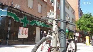Paseo por los nuevos ciclocarriles: una solitaria carrera de obstáculos por La Almozara