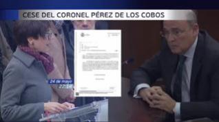 Una carta evidencia que el cese de Pérez de los Cobos fue por no informar la investigación del 8M