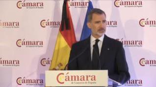 "Felipe VI: ""Seremos capaces de vencer esta crisis, pero nos va a costar, nos va a exigir mucho"""