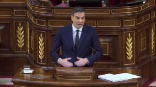 """Sánchez: """"No usemos la bandera como un arma o una frontera, no usemos el nombre de España en vano"""""""