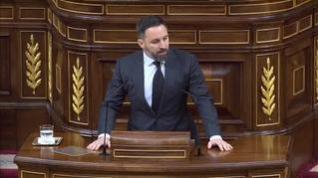 """Abascal a Sánchez: """"No puede maquillar las decenas de miles de españoles muertos por el sectarismo y la negligencia de su Gobierno"""""""