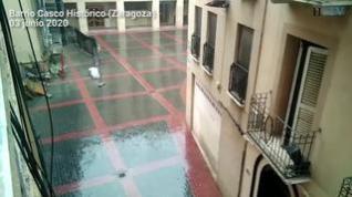 Comienza junio con lluvia en la Ribera del Ebro